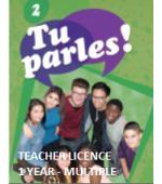 Tu Parles!2 Online Multiple Teacher License (1 Year)